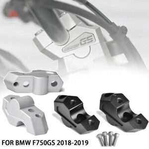Handlebar risers adapters Height 23mm CNC for BMW f750gs 2018 2019