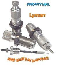 Lyman * Deluxe 3-Die Set with Carbide Expander Button 7mm Rem Mag  * # 7680248