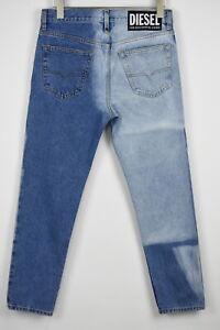 RRP€180 DIESEL MHARKY 0077V W29/L32 Cropped Slim Skinny Stonewashed Jeans 10270*