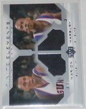 2002/03 Shawn Marion/Marbury Suns Upper Deck Finite Elements Jersey Card #FE13