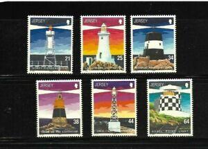 Jersey 1999 Lighthouses set MNH