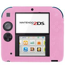 Nintendo 2 DS Housse étui silicone souple mat Housse De Protection Cover Couverture Anti-Chocs Rose