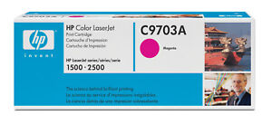 GENUINE HP C9703A NO 121A COLOR LASERJET MAGENTA CARTRIDGE FOR 2500TN BRAND NEW