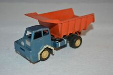 GAMA 1970's Meiller-Kipper Dump Truck, Orange & Blue excellent condition