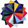 Wholesale 100% Cotton Paisley Bandanas Head Wrap Scarf Wristband Handkerchief