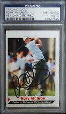 2011 SI FOR KIDS RORY MCILROY SIGNED ROOKIE PSA DNA CERTIFIED AUTOGRAPH MASTERS