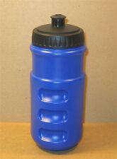 2EA 16 oz (700ml) Bicycle Sports Bike Blue/Black Plastic Water Bottle