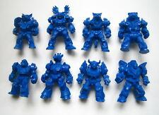 Set 8 of Russian Battle Beasts Technolog Blue