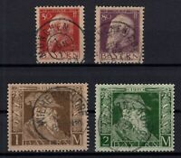 T4223/ GERMANY – BAVARIA – MI # 83 I – 85 I / 87 I USED – CV 165 $