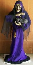Brand New Animated Mathilda The Crone Halloween Prop