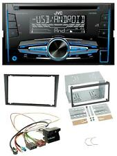 JVC MP3 USB CD 2DIN AUX Autoradio für Opel Combo C Meriva Corsa C Tigra ab 2005