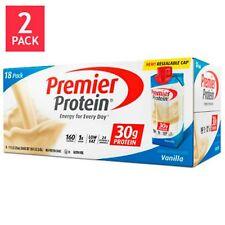 Premier Nutrition 36 pack Ready Drink 30 gram High Protein Shake Vanilla 11 oz