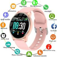 Women's Touch Smart Wrist Watch for 2021 Fitness Tracker IOS Android Waterproof