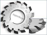 M1.5 No.6 20 Degree HSS Involute Module Gear Cutter Rack Milling Lathe Machine