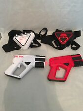 F.A.O SCHWARZ Laser Tag 2 Player Electronic 2 Guns 2 Chest Vests used