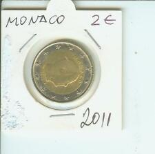 2011 2€ MONACO 2 Euro  2-€ Bimetallic Coin Prince Albert II !!!