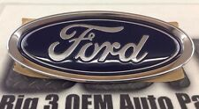 2015-2016 Ford Focus Oval Blue Deck Lid Emblem Nameplate Chrome new FEO