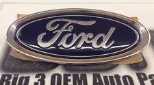 2015-2016 Ford Focus Oval Blue Deck Lid Emblem Nameplate Chrome new OEM