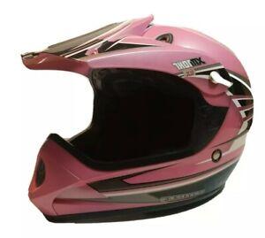 Thor MX SXT2 Helmet Off Road Motocross Pink Adult Extra Small Sharp Looking!