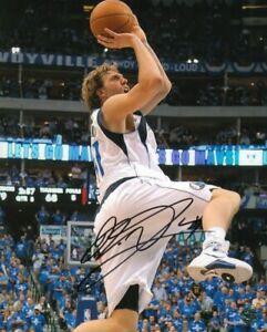 Dirk Nowitzki Signed Photo German Basketball Player Executive Dallas Mavericks