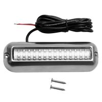 4.7 Inch 42 Led 95Lm Underwater Pontoon Boat Transom Waterproof 316Ss Fishi B1E4