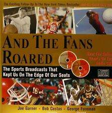 And the Fans Roared (Book and 2 CDs) Bob Costas, NEW