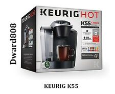 Keurig K55 Single Serve Programmable K-Cup Pod Coffee Maker - Black - BRAND NEW