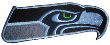 New Gray NFL Seattle Seahawks Football Logo embroidered iron on patch. (i169)