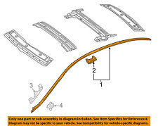 Mercedes MERCEDES-BENZ OEM 15-16 C300-Roof Molding Trim Left 2056900382