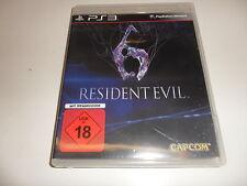 PlayStation 3  PS3  Resident Evil 6   USK 18 (2)