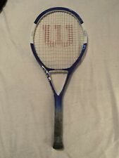 Wilson Ncode N4 Oversize with 4 1/4 size grip Tennis Racquet Nice Clean