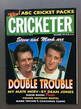 CRICKETER Cricket Magazine Dec 1991 Steve & Mark Waugh Cover David Boon Poster