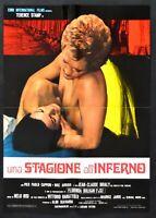Manifesto Una Temporada Al Infierno Terence Impresión Florinda Bolkan S13