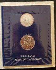 LIRA serie VATICANO FdC 1983-1984 anno santo GIOVANNI PAOLO II - folder