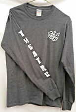 Theatre Long Sleeve Tee - Grey and White - Theatre Gifts - Theatre Long Sleeve