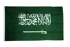 Saudi Arabia Flag 3 x 2 FT - 100% Polyester With Eyelets Country National
