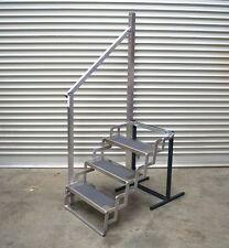 "Aluminium Scissor Step / Trailer / Camper / Caravan - 24"" Wide 4 Step SSA31394"