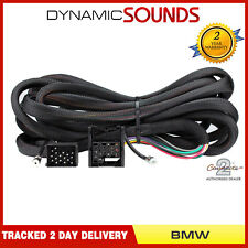 CT20BM05 ISO Wiring Harness Adaptor Extension Lead 6.5m for BMW 3, 5 Series, X5