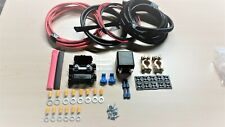 Auto Switch Split Charge Relay Kit - 100 Amp 2 M Power Feed. Fit Leisure Battery