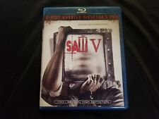 Saw V Directors Cut 2-Disk Blu Ray, Five, Lot C1.