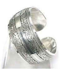 NEW IN TIBET STYLE TIBETAN SILVER LUCKY TOTEM BANGLE #63652