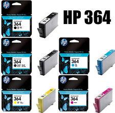 5x HP364 ORIGINAL TINTE PATRONEN PHOTOSMART B010A B210A B210B B209A C410B SET