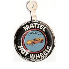 Mattel Hot Wheels Redline Advertising TurboFire NM RARE Flip Top Pin 1968