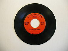 Claude King Yellow Haired Woman/Ninety Nine Years 45 RPM