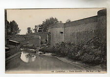Old Wall - Cambrai Photo Postcard c1905 / LL
