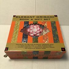 Elegant Origami Book and Gift Set Deluxe Tools & Additional Origami Paper
