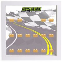 Display Case Frame for Lego Series Speed Champions minifigures figures
