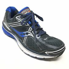 Men's Saucony Omni 15 Running Shoes Sneakers Size 7.5E Gray Blue Athletic B5