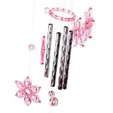 Sale Crystal 4 Metal Tubes Windchime Wind Chime Home Garden Decor EB