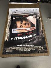 THE TRUMAN SHOW - 27x40 Original DS Movie Poster - Jim Carrey
